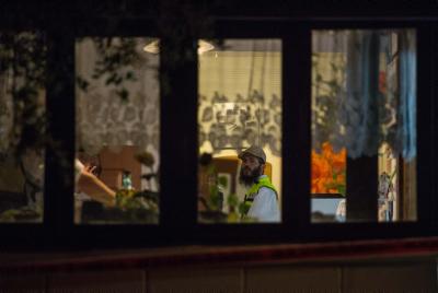 """זירת הפיגוע המחריד בנווה צוף בו נטבחו שלושה בני משפחת סלומון הי""""ד"""