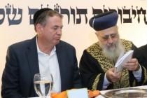 """עוזי דיין ומרן הראשל""""צ הגר""""י יוסף בתחרות קודמת"""