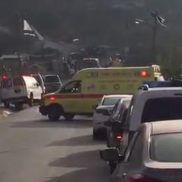 זירת הפיגוע בהר אדר