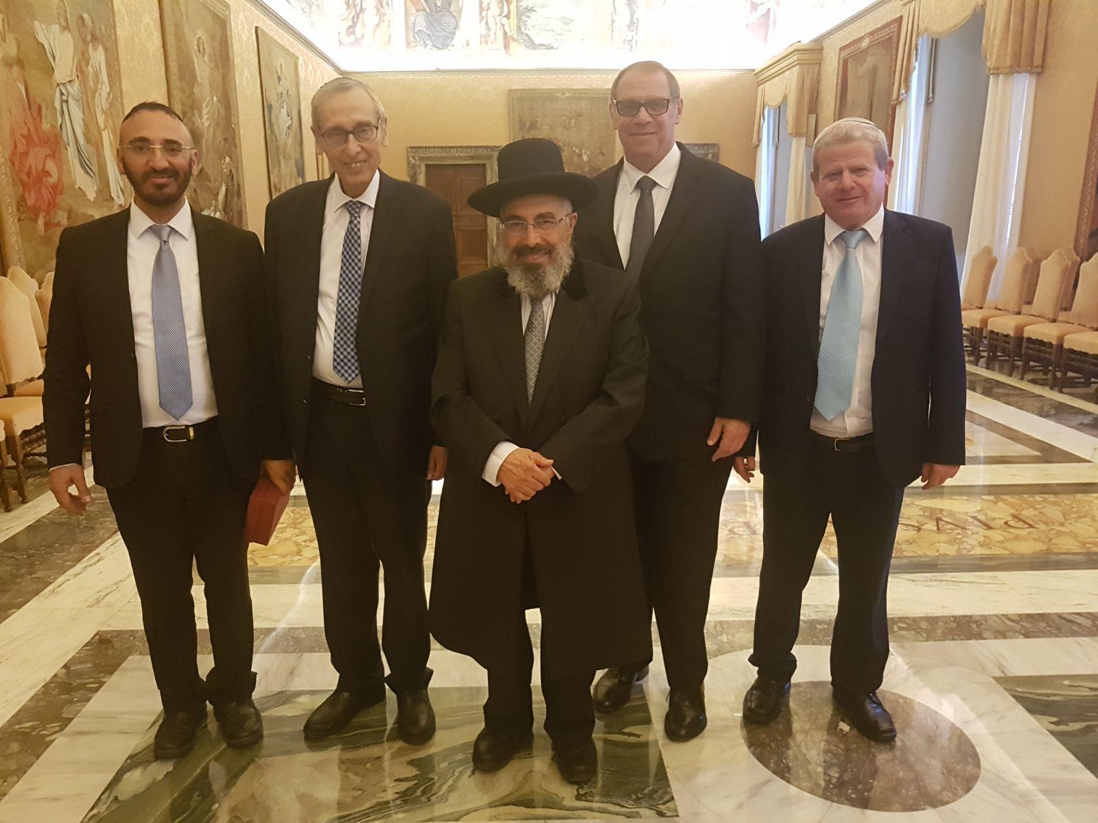הרבנים במפגש