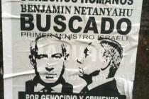 כרזה אנטישמית שפורסמה