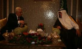 מה אבא יגיד על זה? מלך סעודיה ואבו מאזן