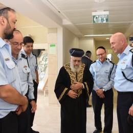 הרב יצחק יוסף במכללה לשוטרים