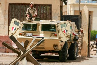 כוחות מצריים בסיני | אילוסטרציה