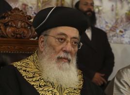 """מרן הראשל""""צ, רבה של ירושלים הגרש""""מ עמאר"""
