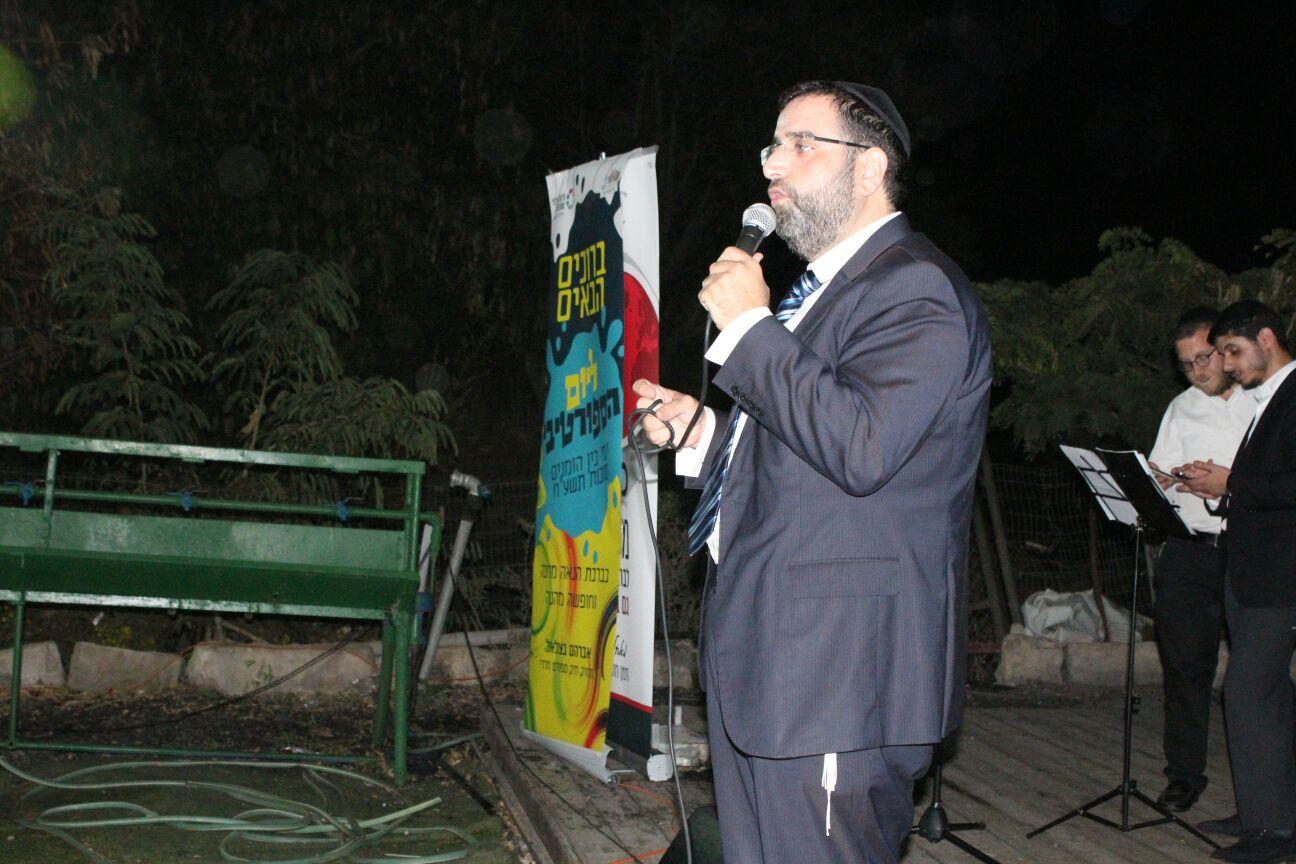 היזם: חבר מועצת ירושלים, אברהם בצלאל