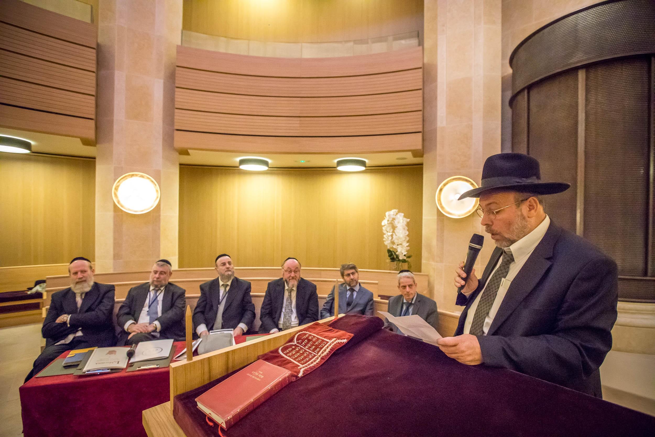 ועידת רבני אירופה יום הראשון (14)
