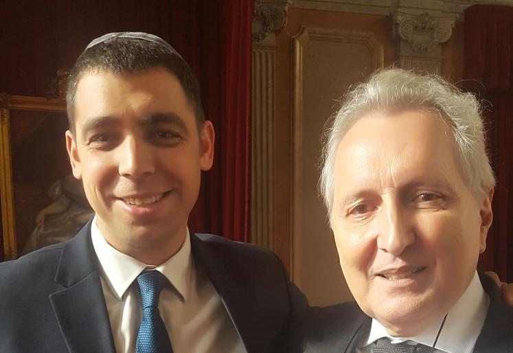 """עו""""ד גואלמן והמשנה לנשיא בית המשפט בפורטוגל"""