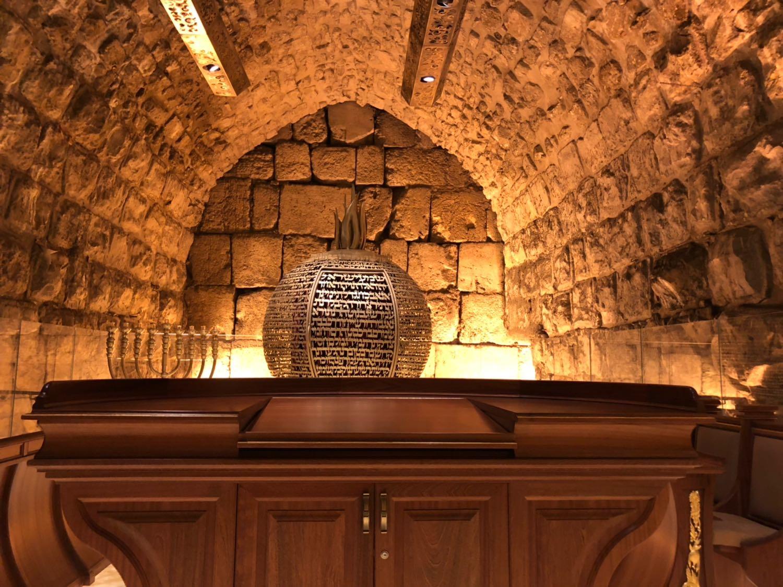 בית הכנסת זהב מנהרות הכותל 03