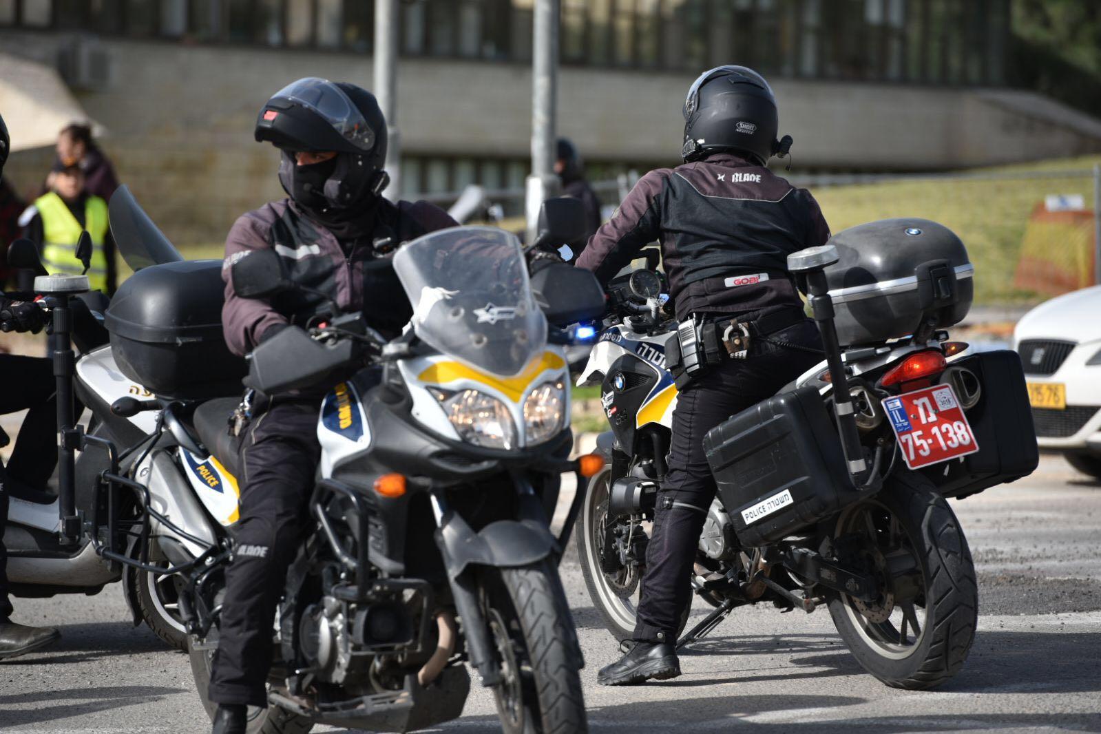 אופנועי משטרה