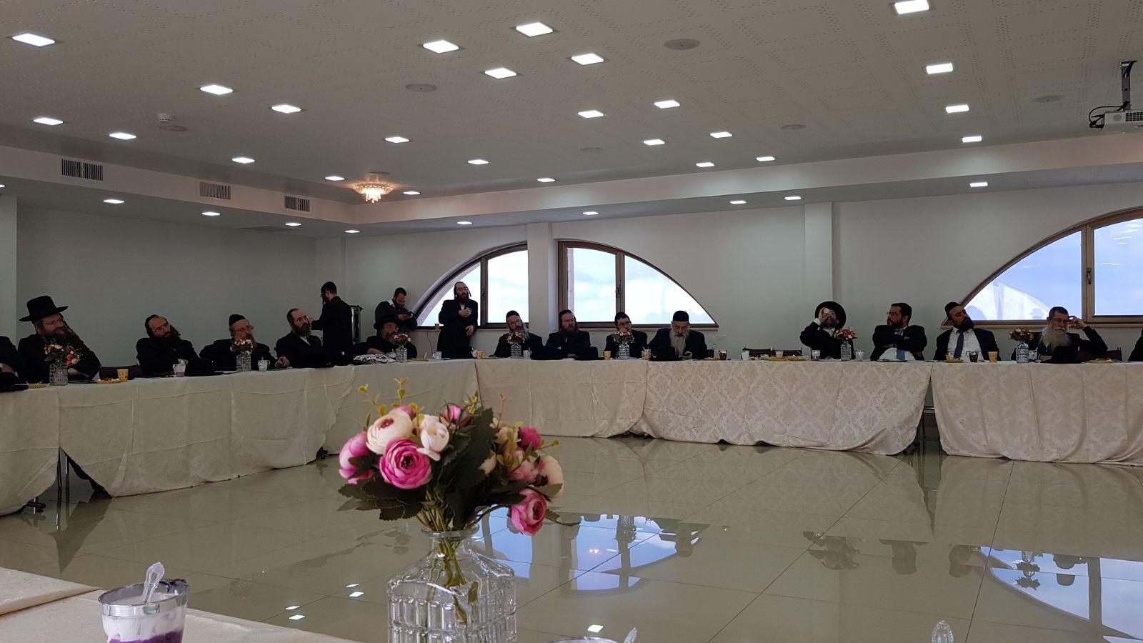 מנהלי המוסדות במפגש