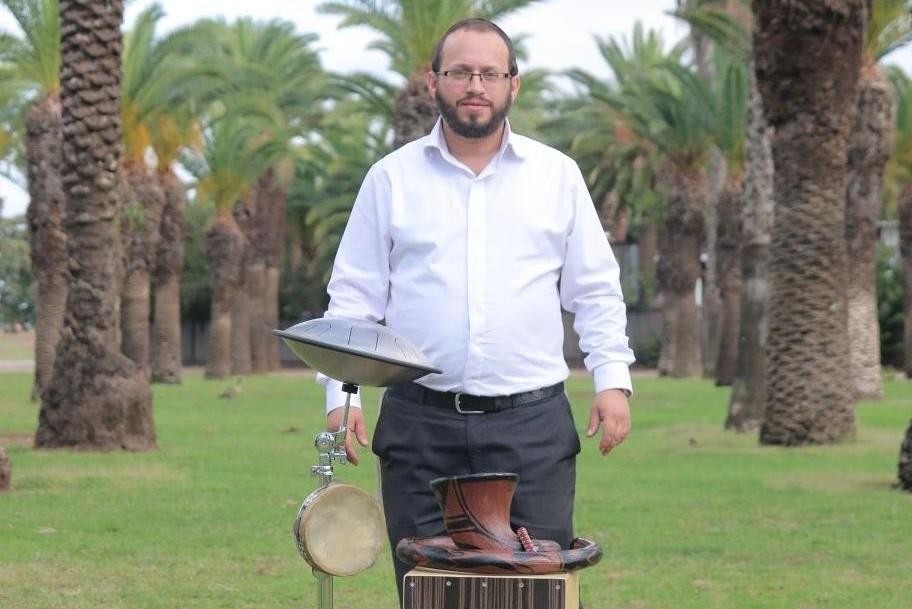 ישראל שטרן וחלק מהכלים