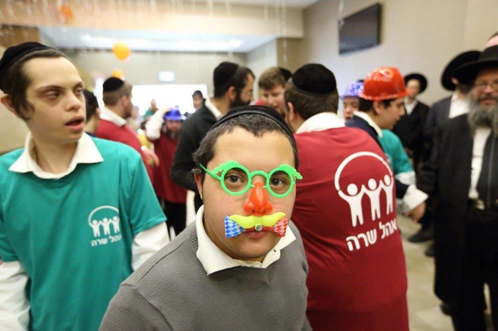 אם אתה משמח את שלי. מסיבת ראש חודש אדר עם הילדים המיוחדים צילום יעקב נחומי (10)