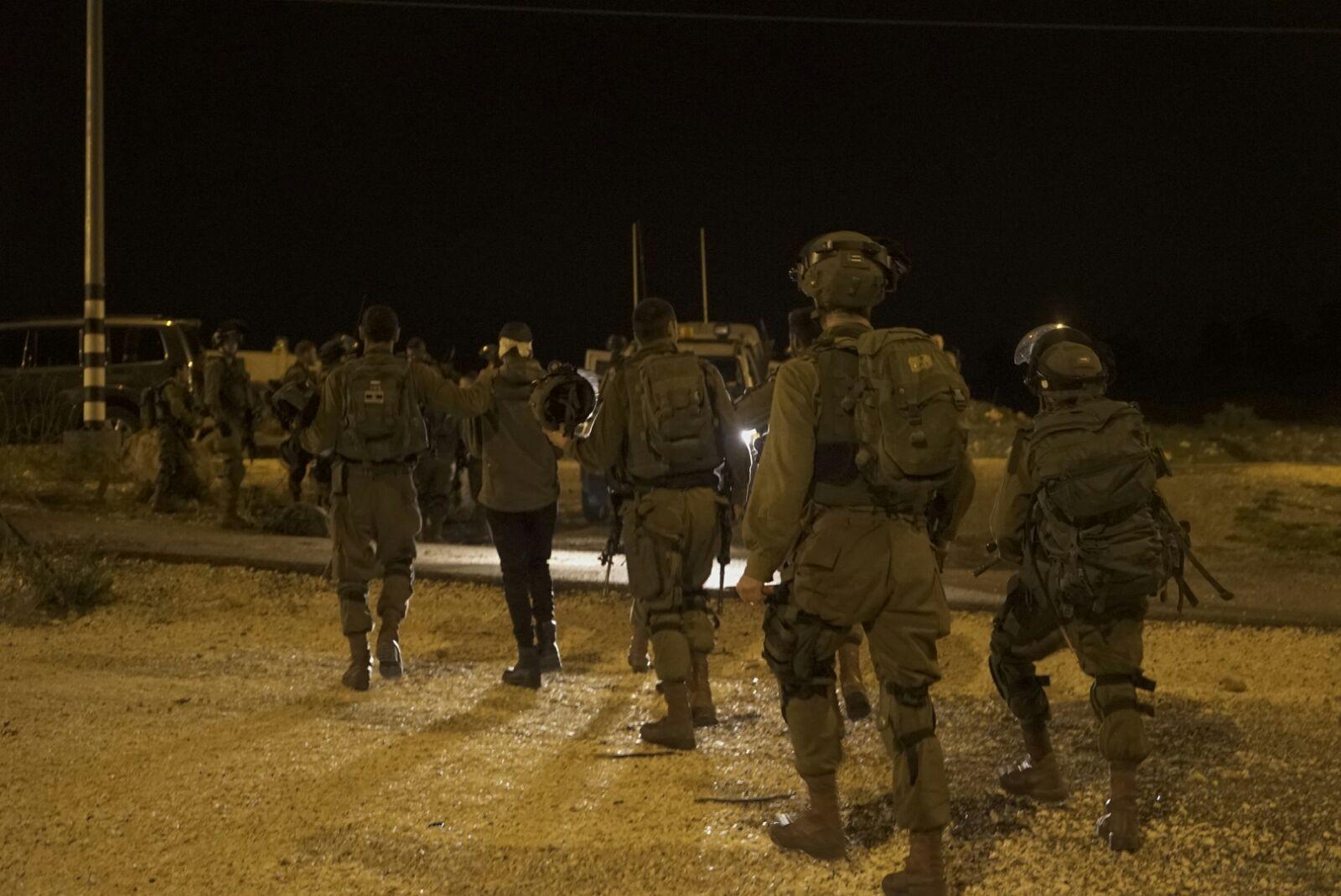 חיילים בפעילות