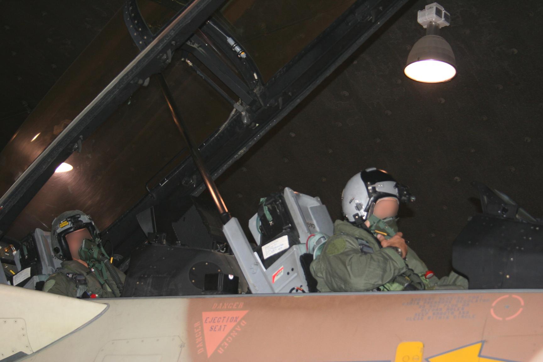 הטייסים לאחר המבצע