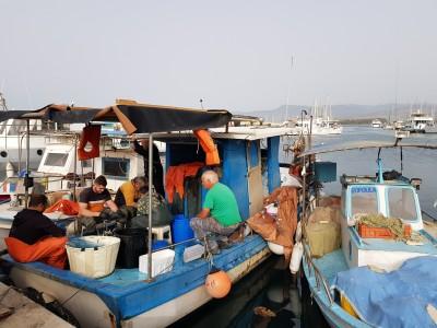 דייגים בקפריסין