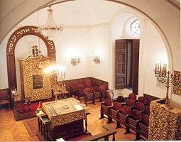 פנים בית הכנסת