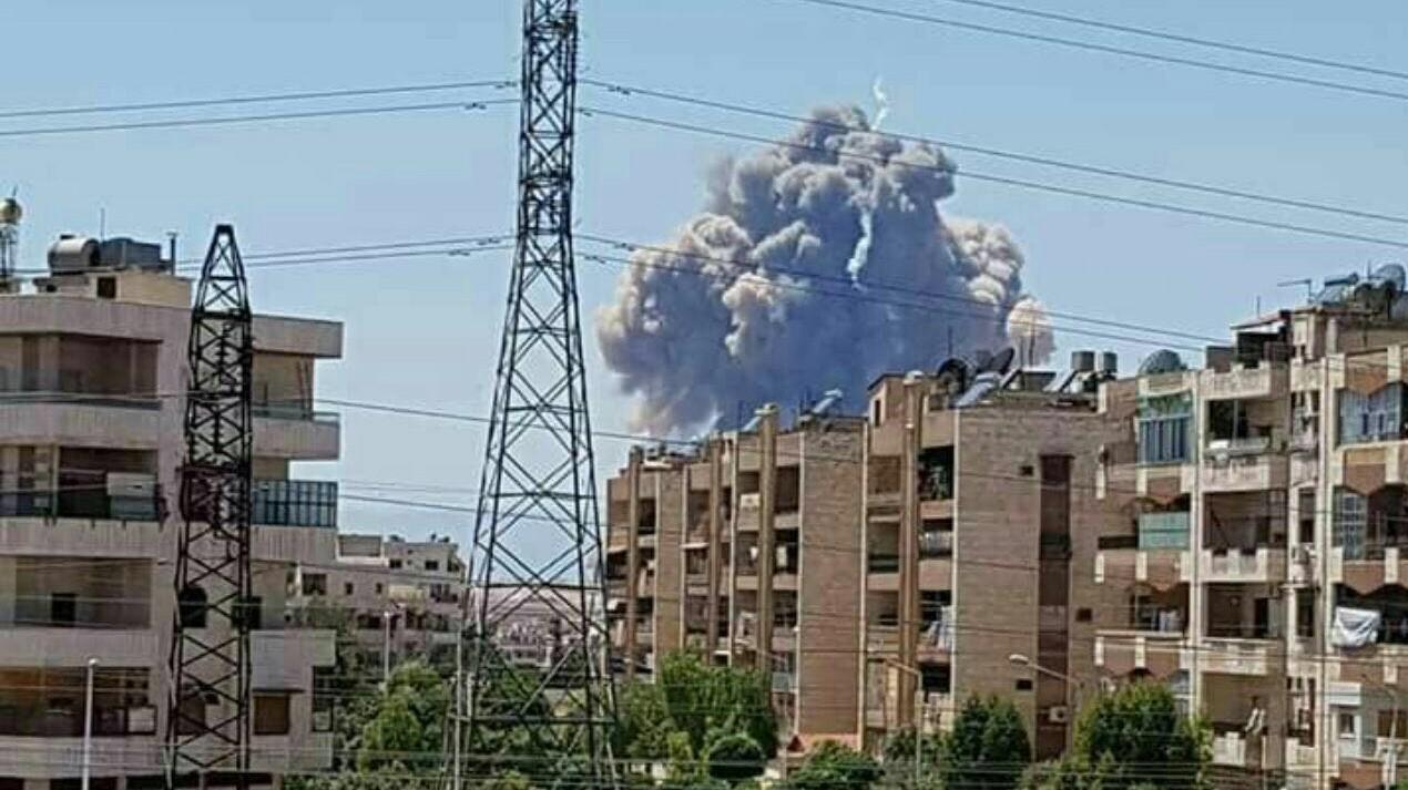 פיצוץ סורי