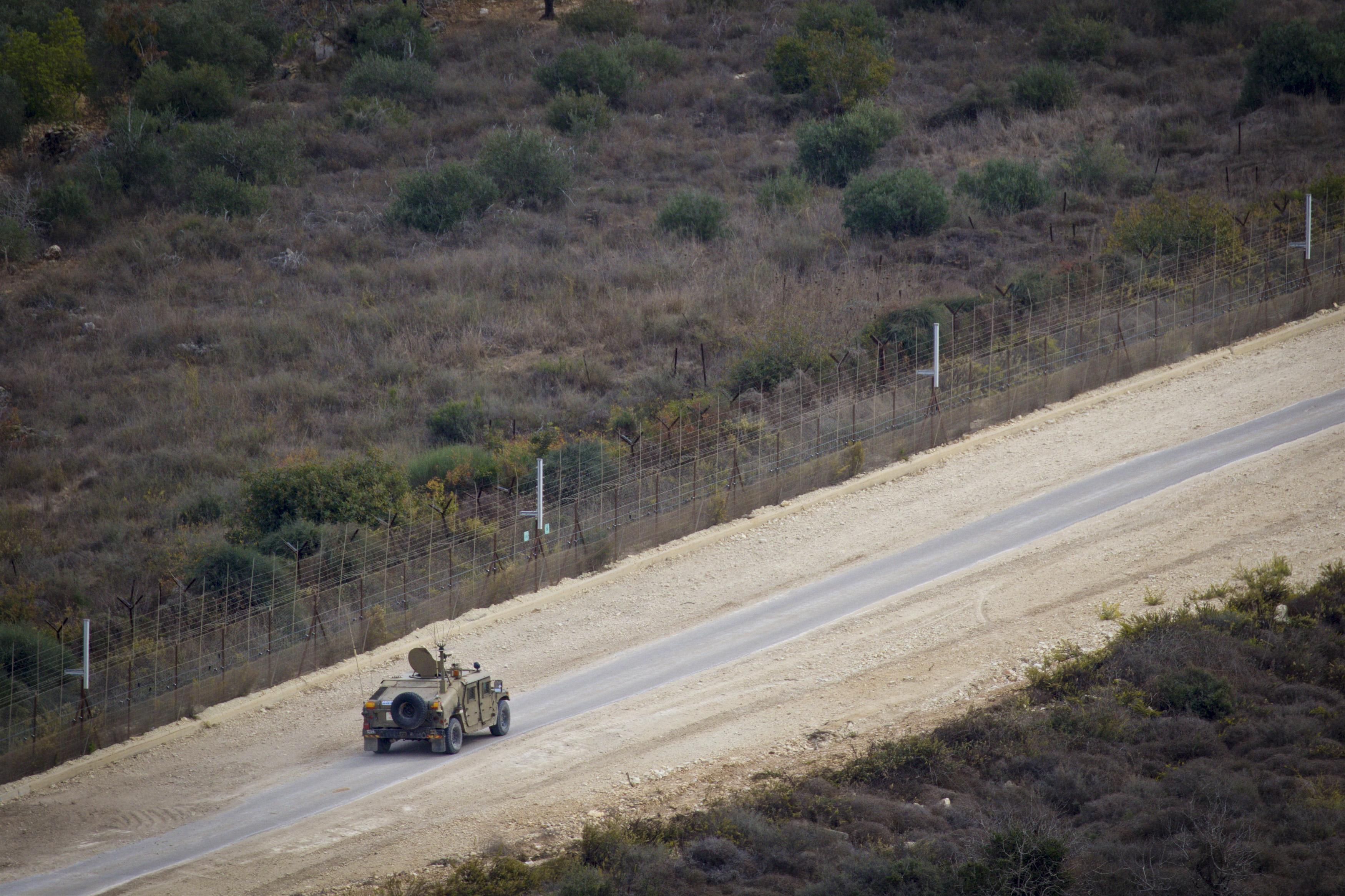 """כח או""""ם בגבול לבנון"""