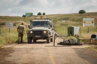 כוחות צבאיים בגבול