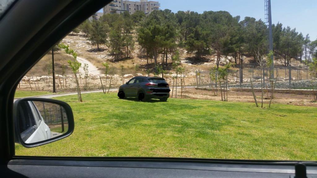 הרכב בגן