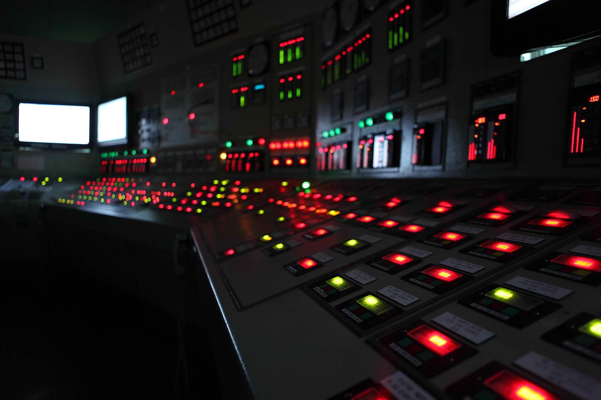 חדר בקרה - חברת החשמל