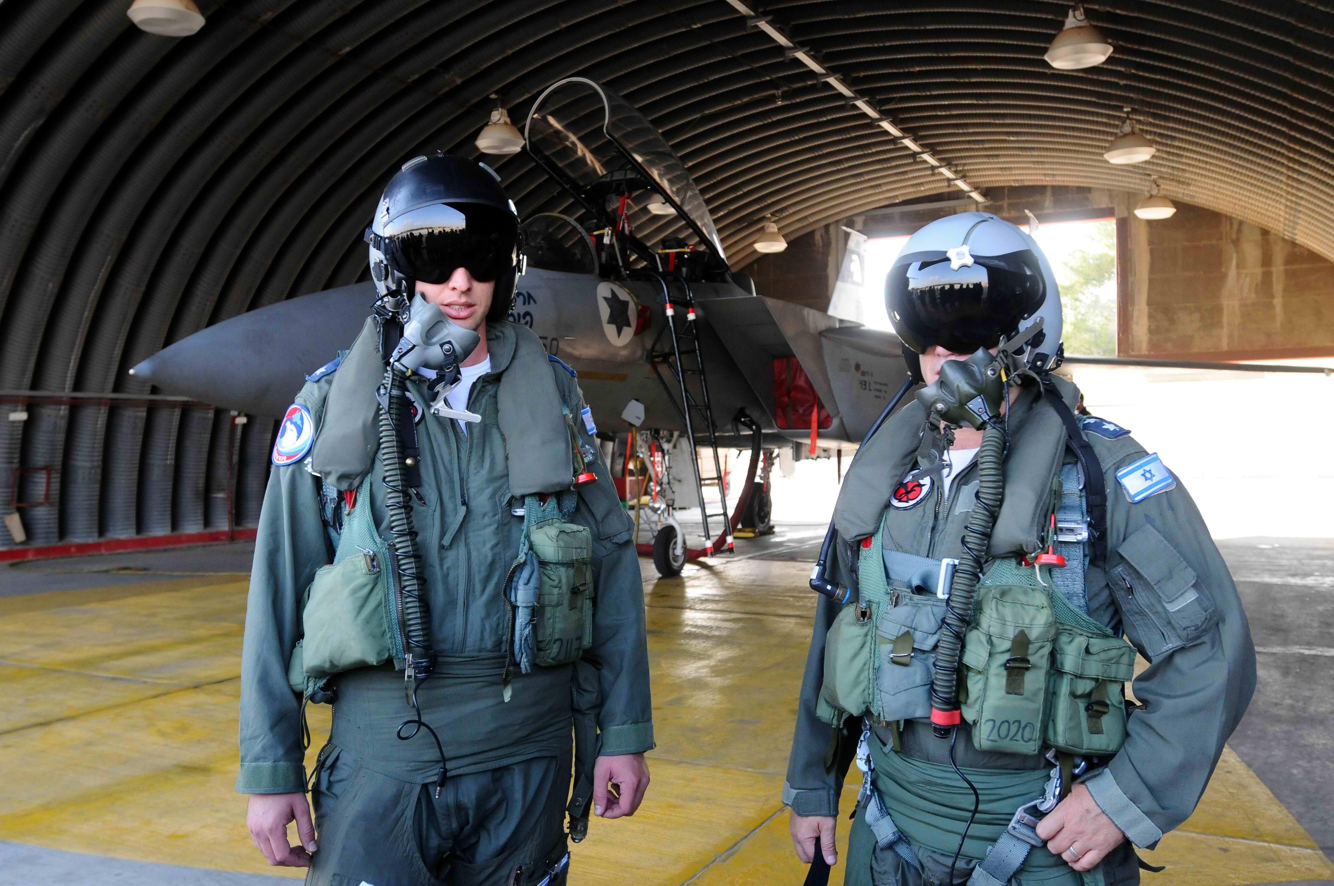טייסי קרב. צילום פלאש 90