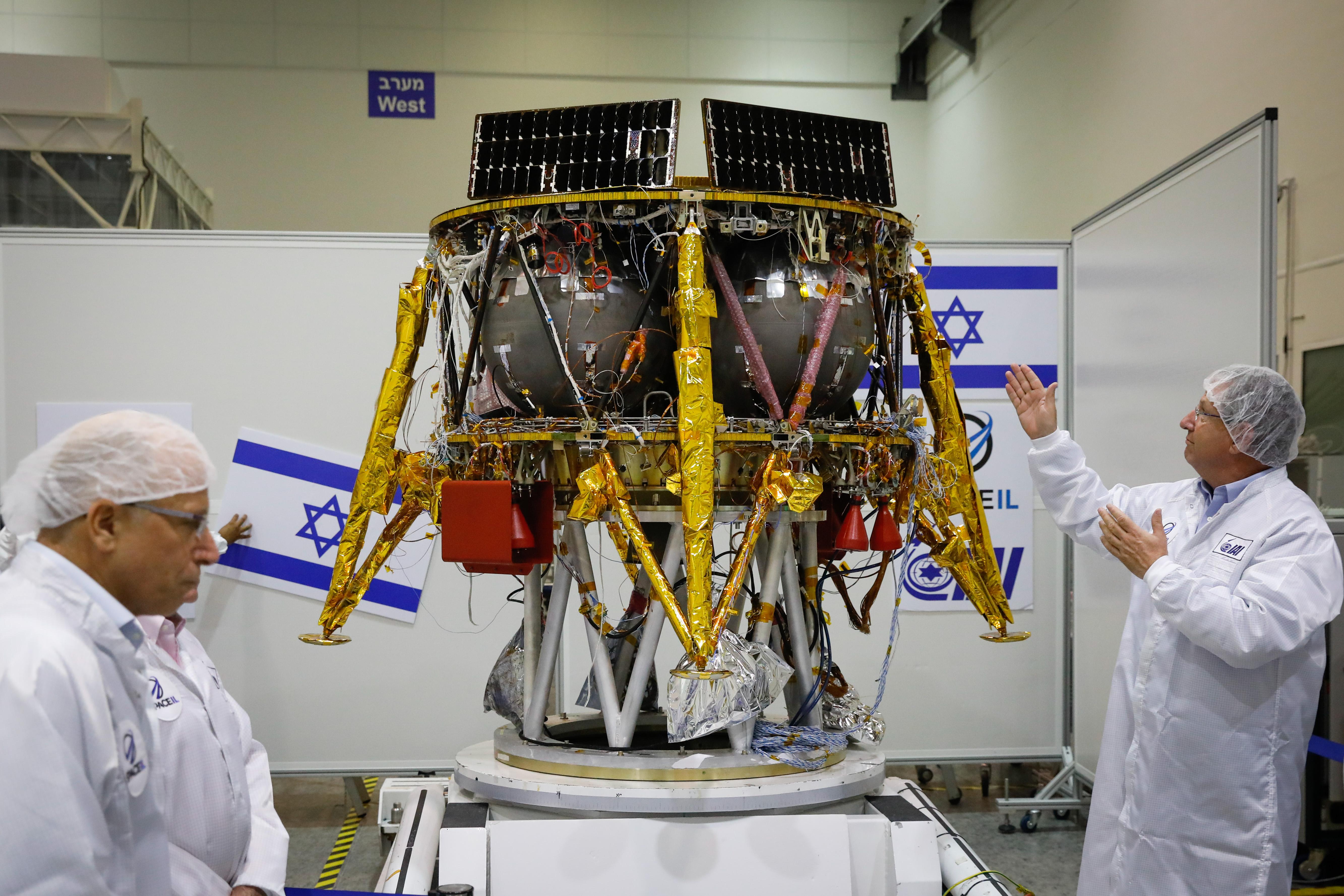 MIDEAST ISRAEL SPACE