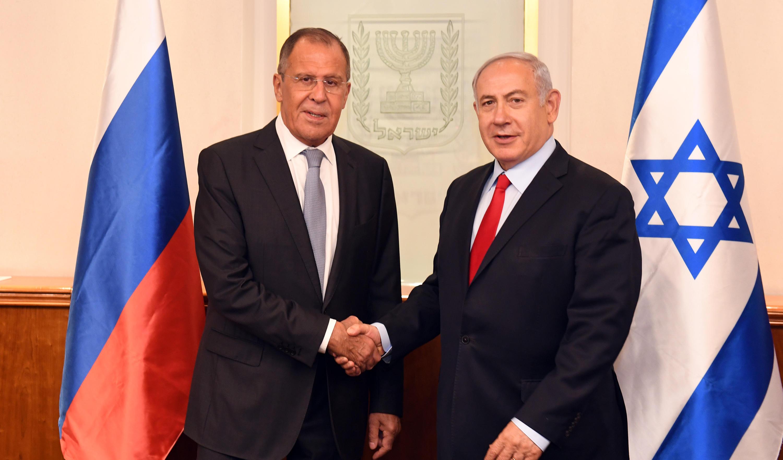 """שר החוץ הרוסי עם ראה""""מ"""