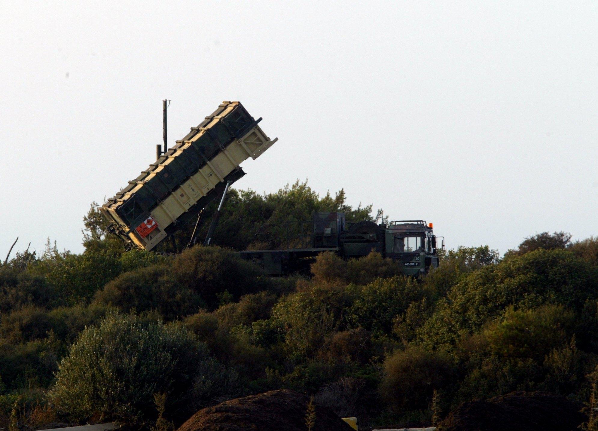 מערכת הפטריוט בישראל. צילום פלאש 90