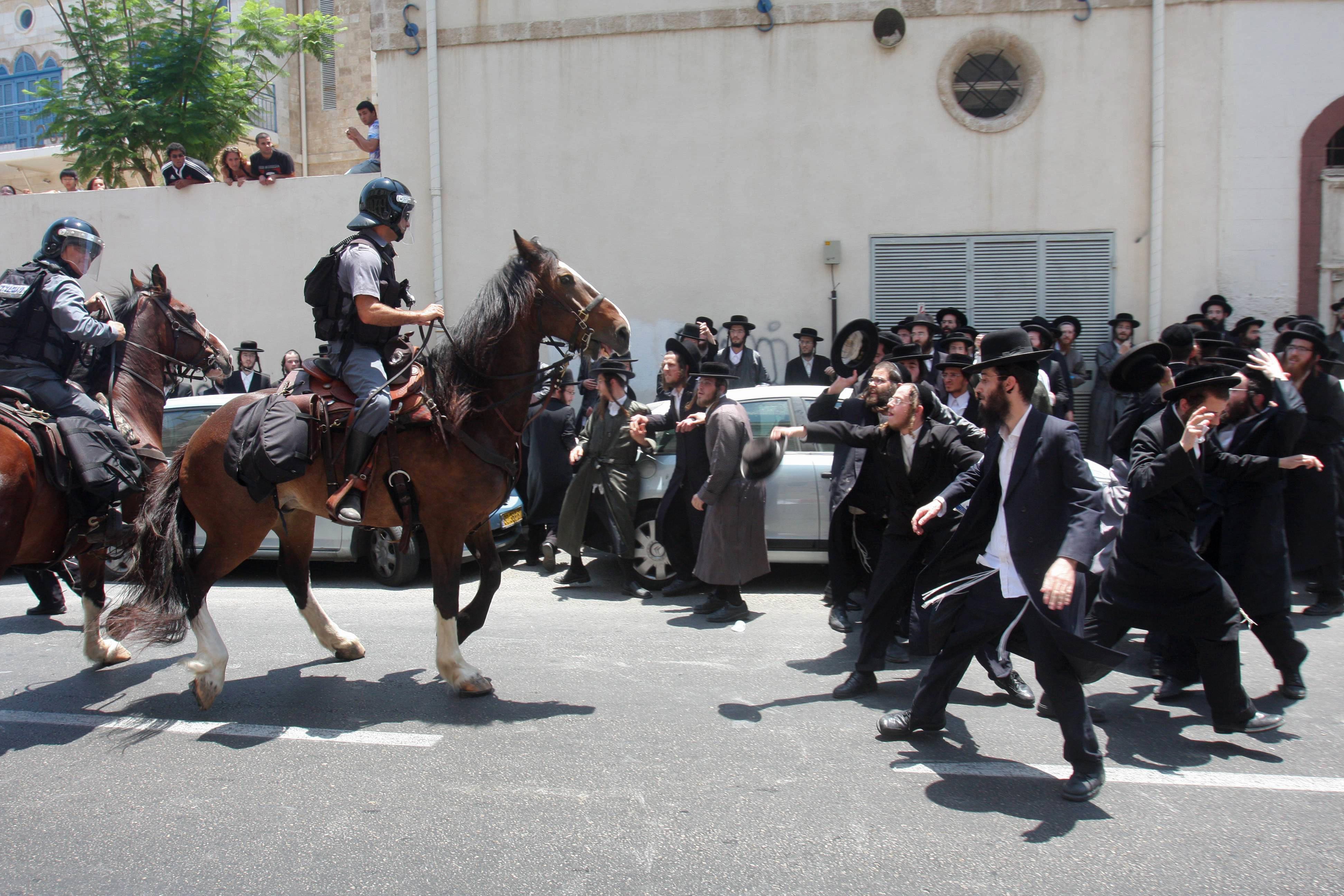 Ultra Ortodox riots