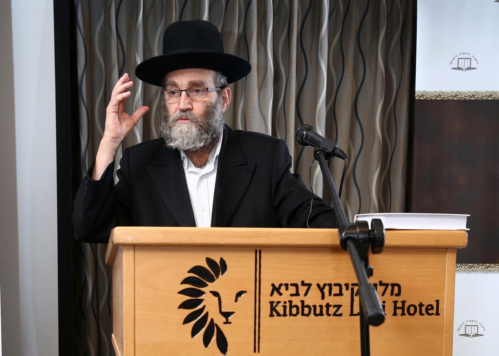 גפני בכנס הרבנים