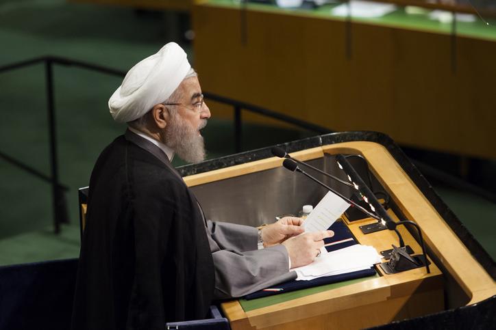 """נשיא איראן באו""""ם"""