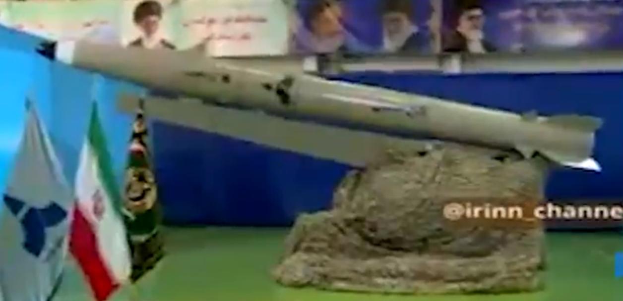 הטיל שהוצג על ידי איראן