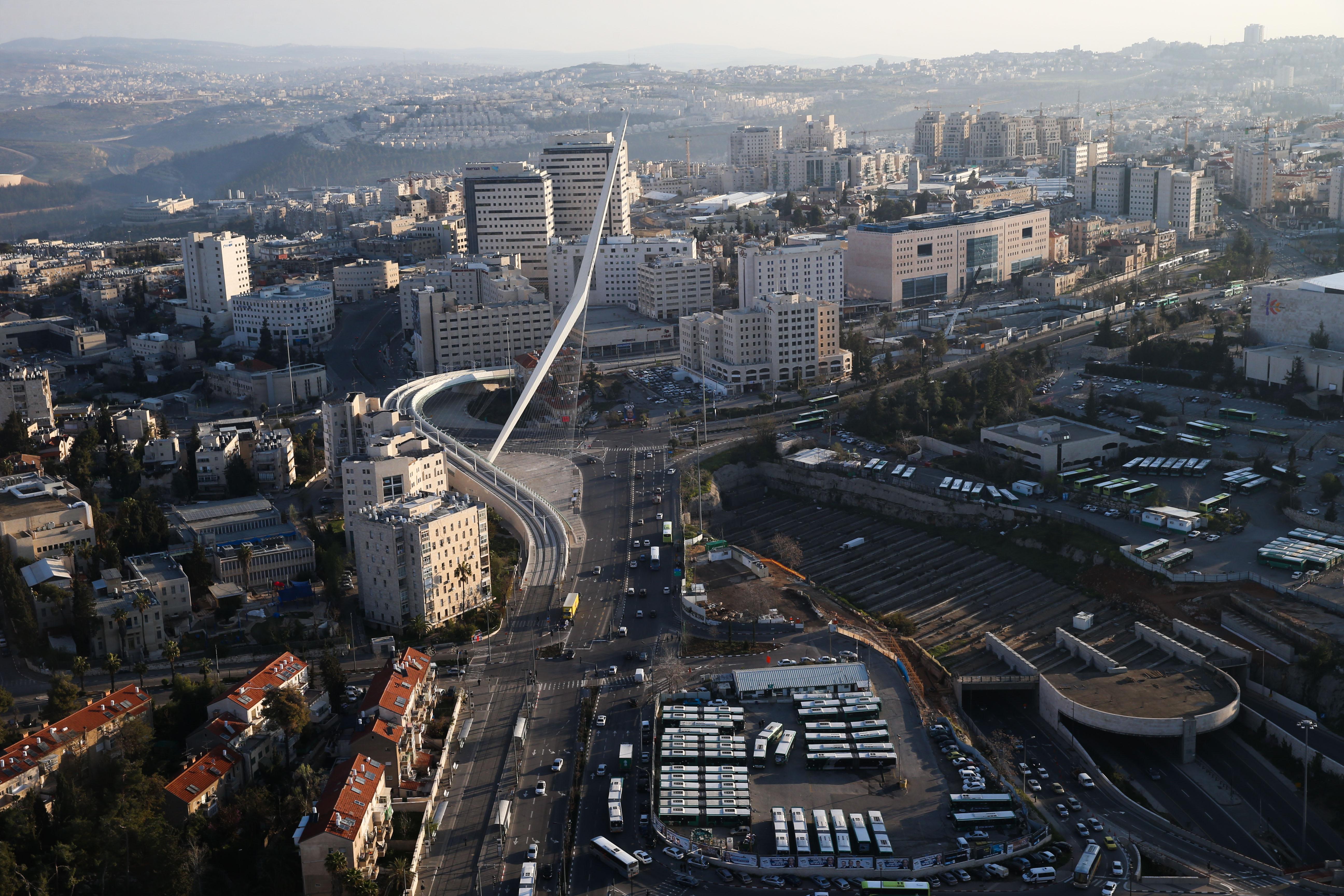 ירושלים -מבט מלמעלה