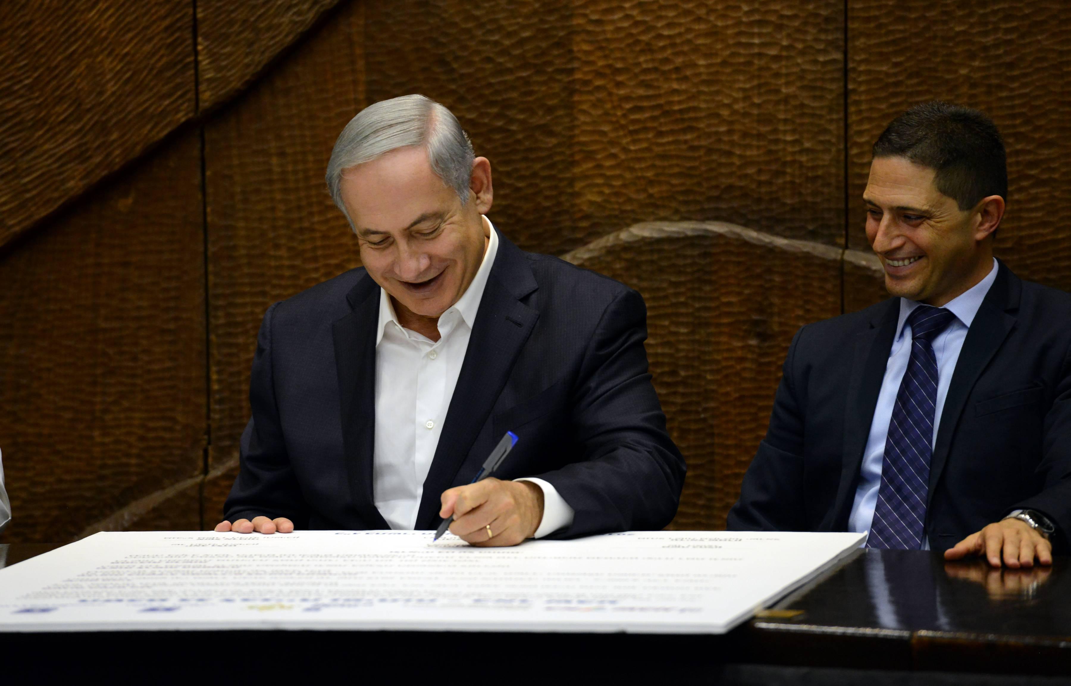 ראש עיריית באר שבע, רוביק דנילוביץ עם ראש הממשלה