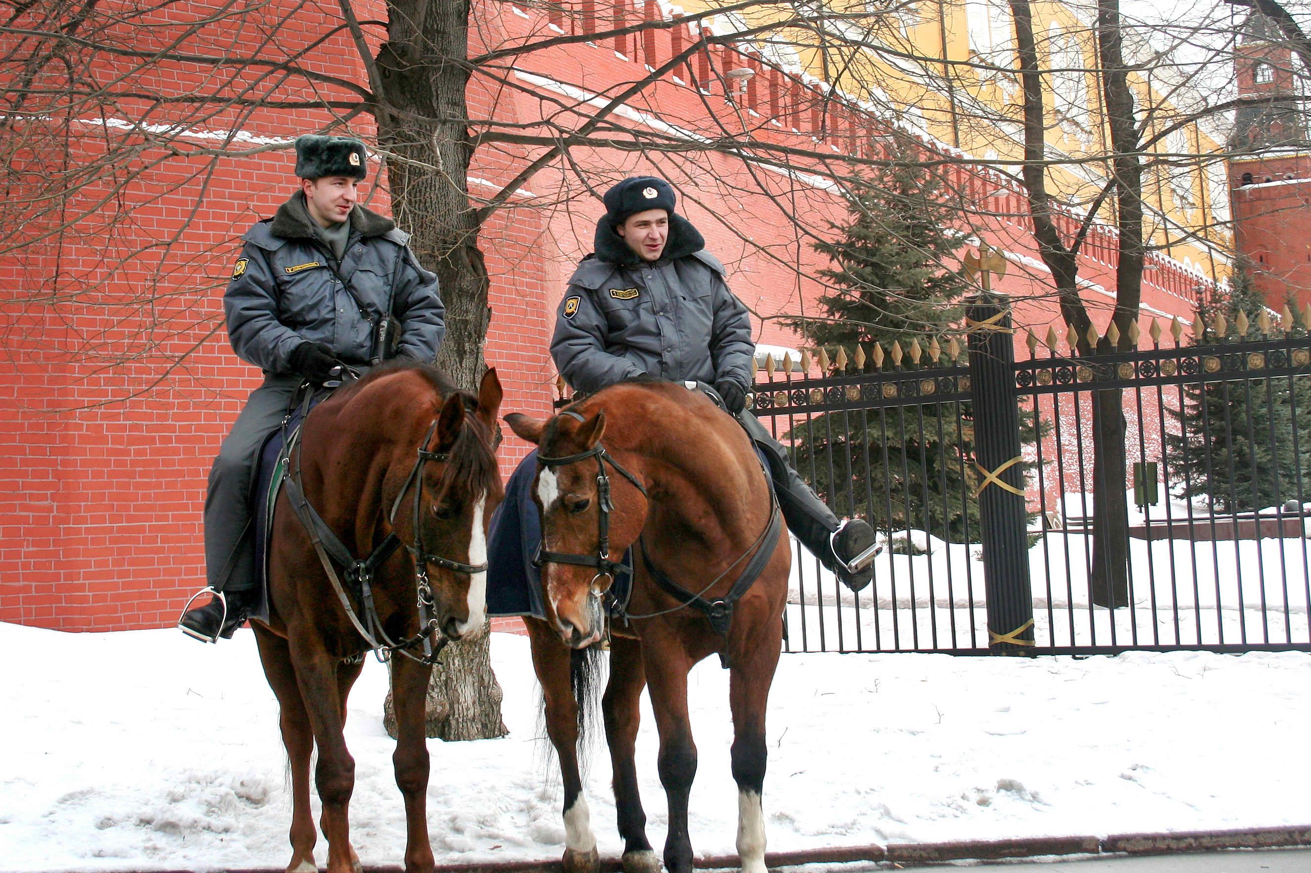 שוטרים ברוסיה