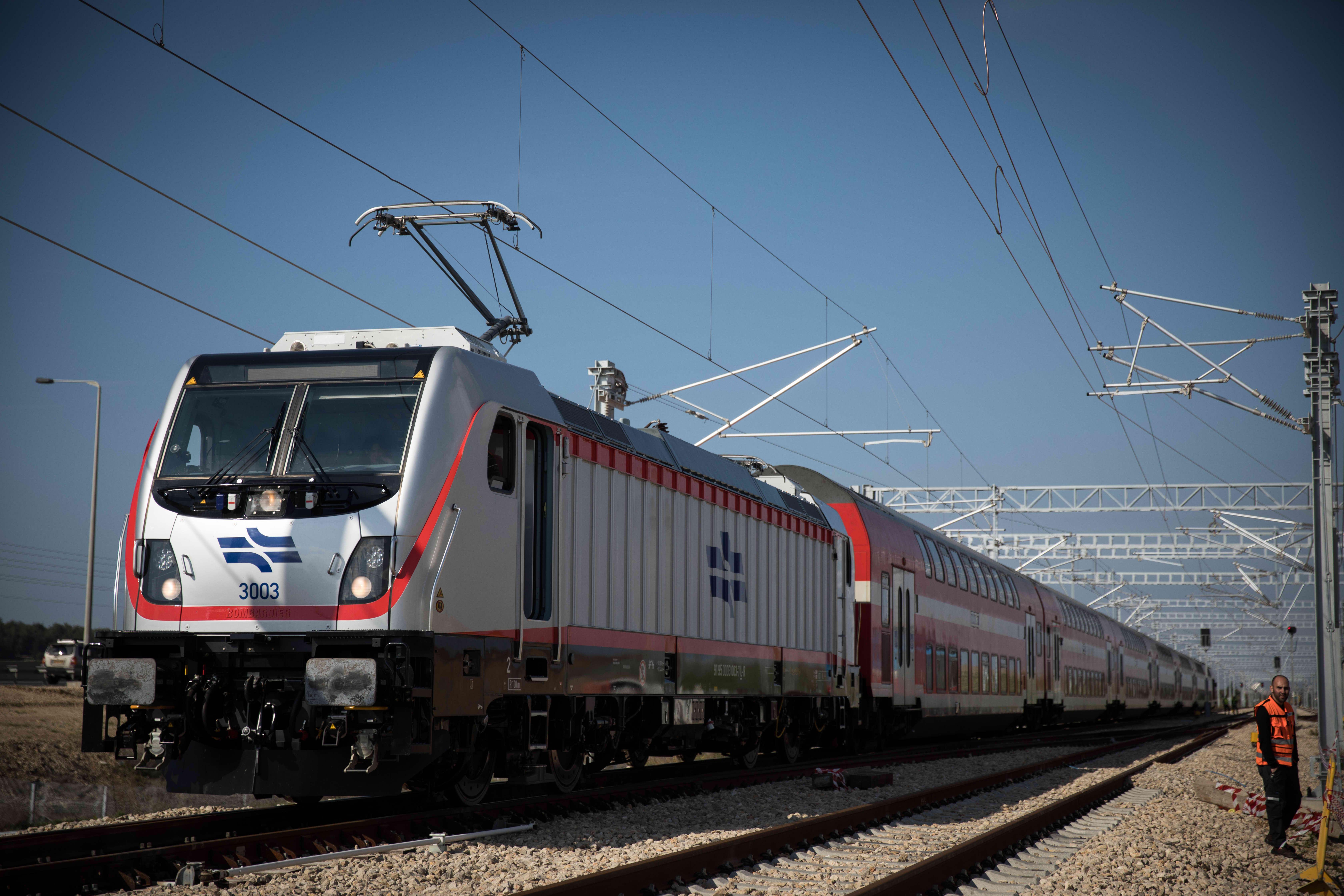 הרכבת החשמלית החדשה