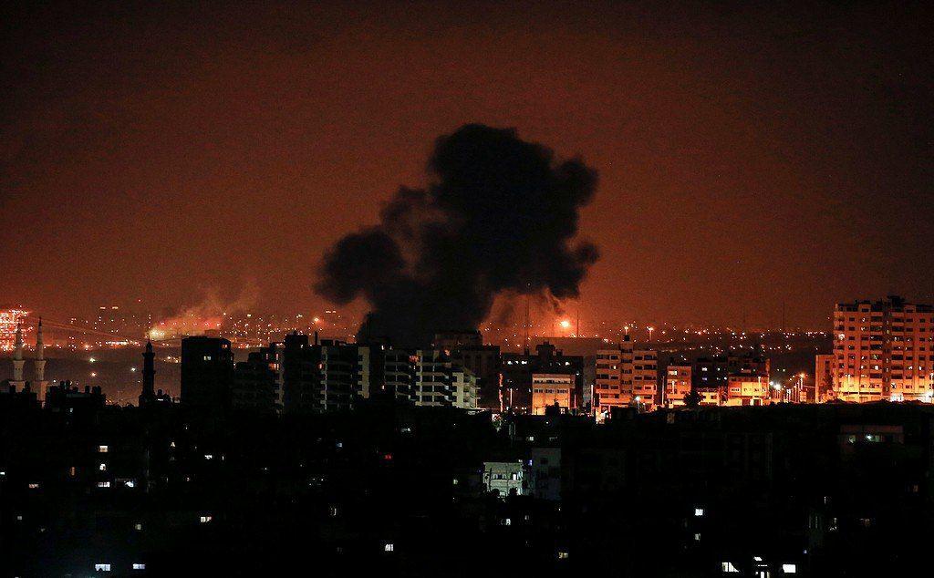 ההפצצות הלילה בעומק הרצועה
