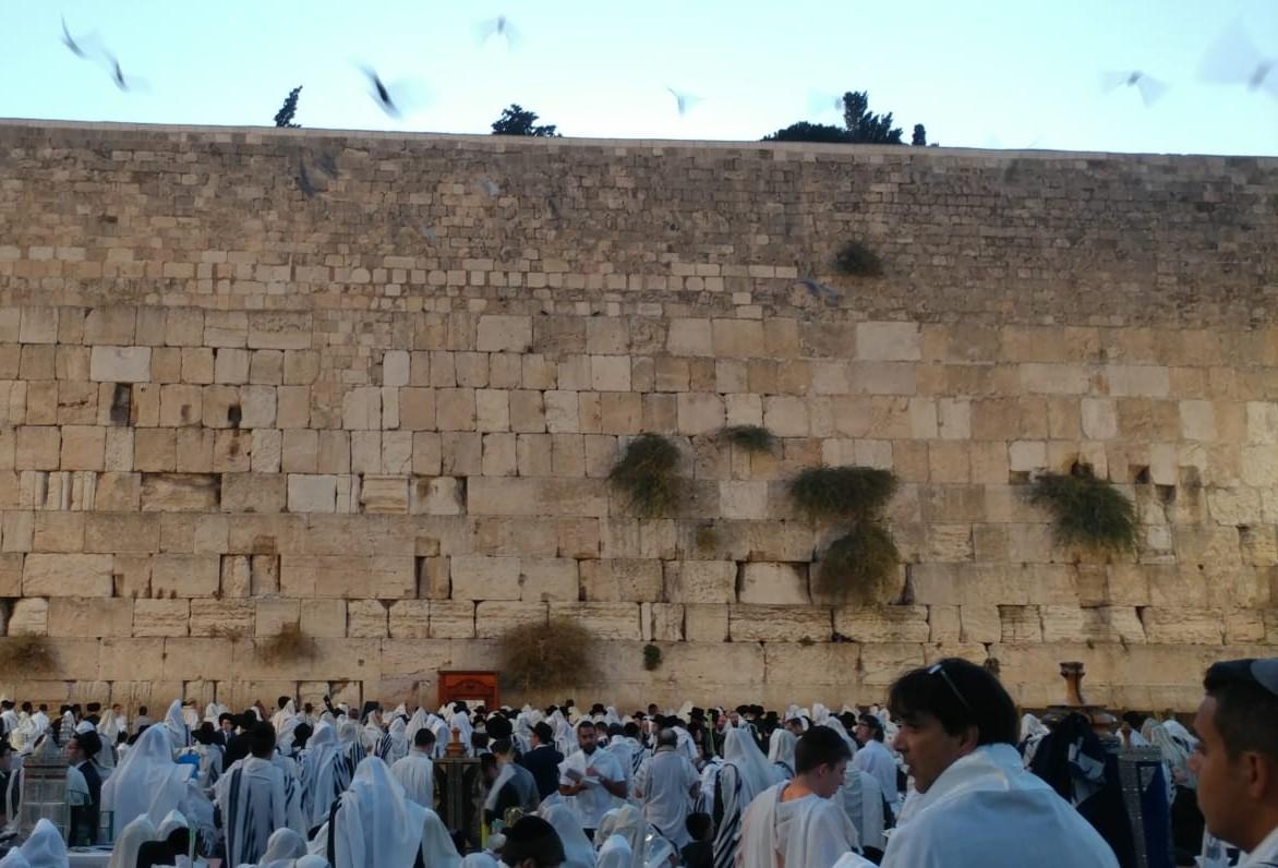 יהודים בכותל המערבי