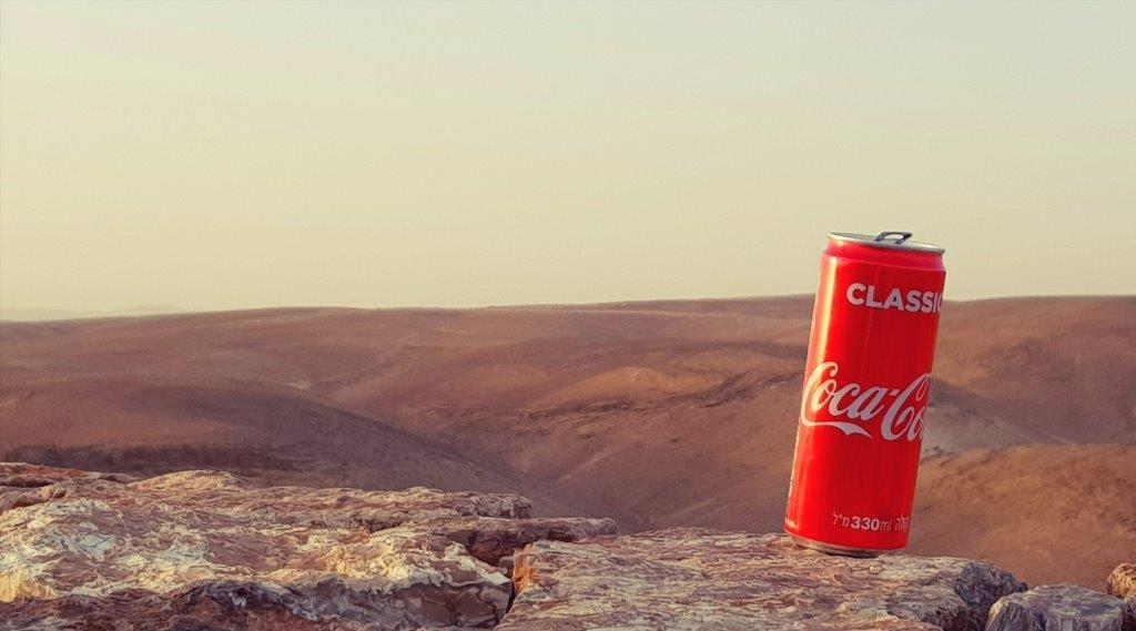 קולה קוראת במדבר - צילום דוד קליגר