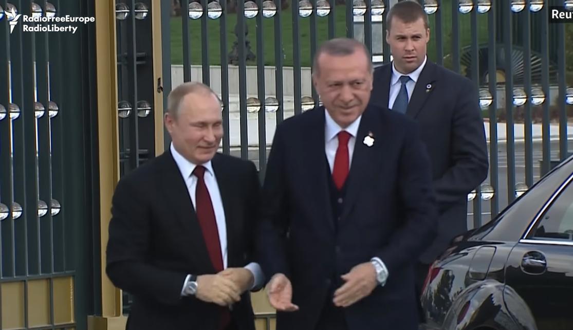 הסכם דרמטי שמשנה את המערכה בסוריה. פוטין וארדואן במפגשם הקודם בטורקיה