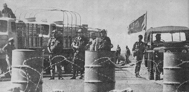 חיילים במהלך מלחמת יום הכיפורים