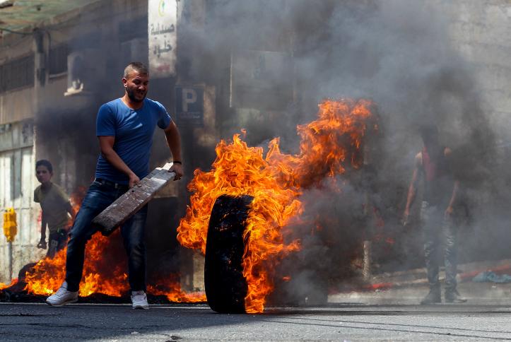 """מהומות במזרח ירושלים ע""""י צעירים ערביים"""