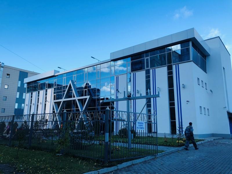 אילוסטרציה. בניין קהילה יהודית ברוסיה