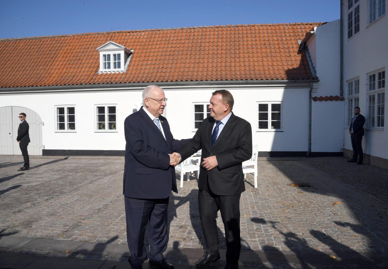 הנשיא וראש הממשלה הדני