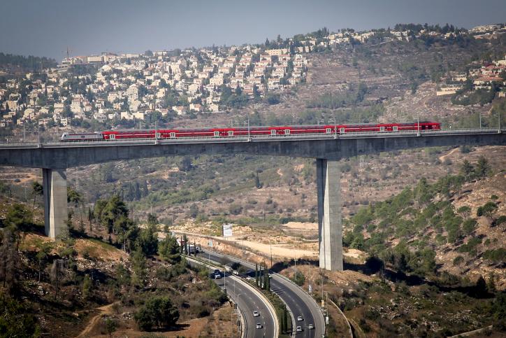 קו הרכבת ירושלים תל אביב