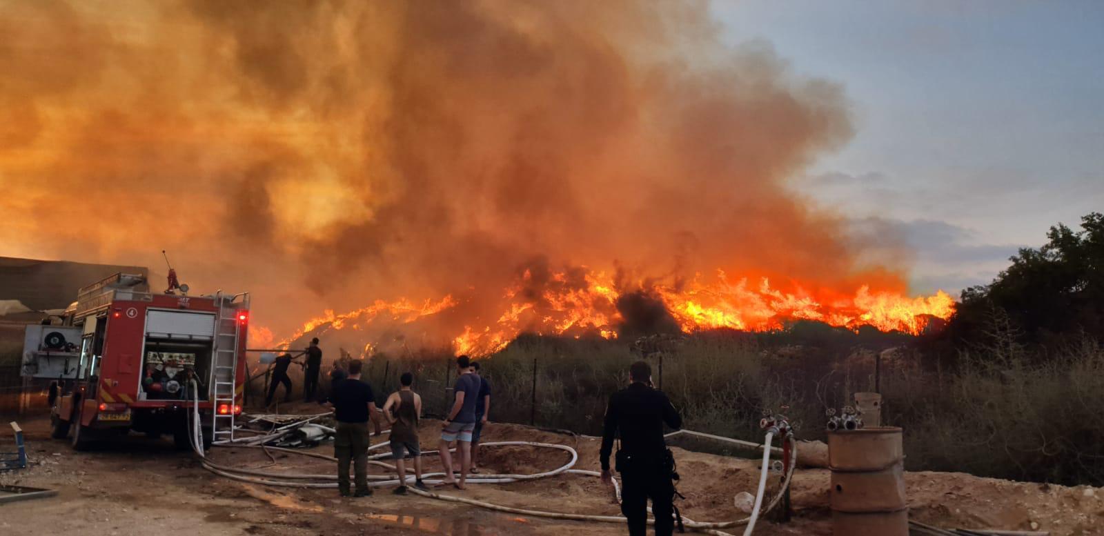 השריפה הגדולה באשכול