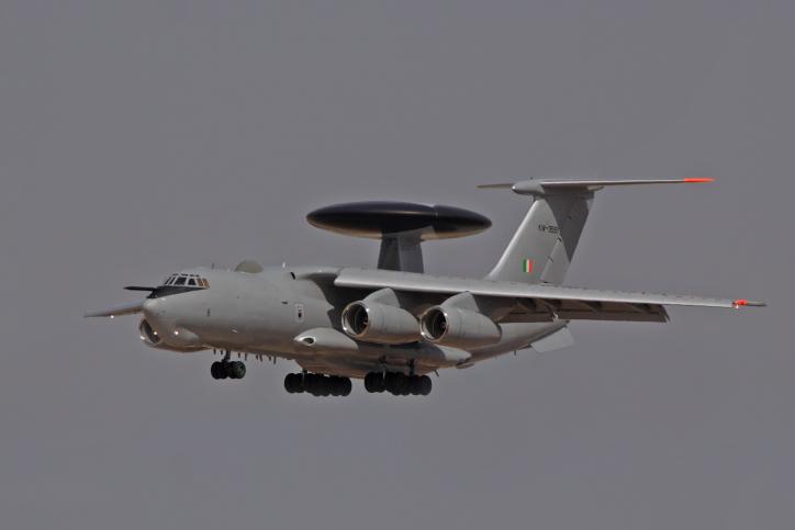 מטוס ביון איטלקי נוחת בישראל