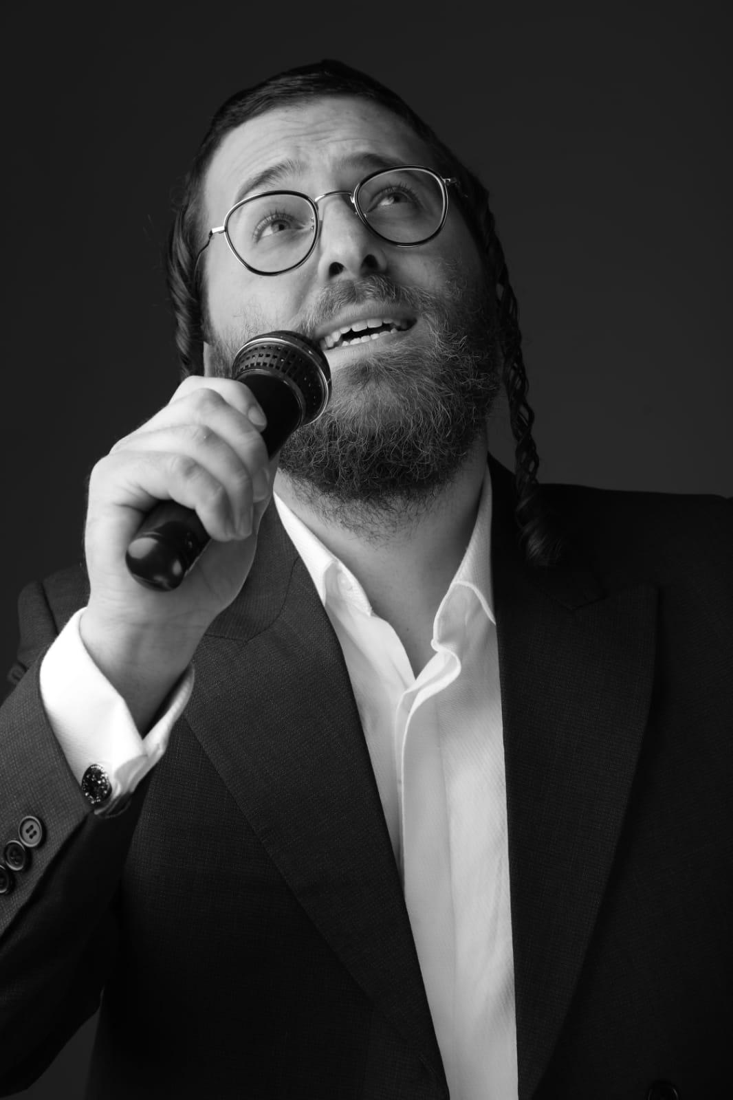 הזמר נחמן גולדברג צילום רפאל מזרחי